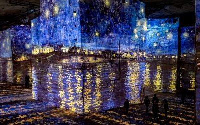 La exposición inmersiva de Van Gogh en Carriere de Lumieres