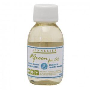 Diluyente ecológico Sennelier, 100 ml., sustituto de la trementina